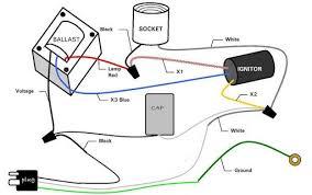 high pressure sodium ballast wiring diagram Metal Halide Ballast Wiring Diagram 208 volt hps ballast wiring diagram 208 diy wiring diagrams metal halide ballast wiring diagram 70w