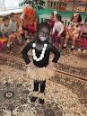 Костюм папуаса для мальчика из дождика