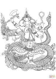Ganesha Kleurplaat Gratis Kleurplaten Printen