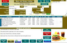 menu spreadsheet template free monthly meal planner for excel menu cost spreadsheet template 2
