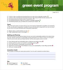 Template For A Program For An Event 38 Event Program Templates Pdf Doc