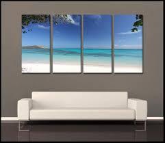 glowing lagoon fiji tropical 4 piece epic fine art canvas wall display  on 4 piece canvas wall art sets with shop epic wall art sets 4 piece epicwallart