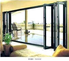 patio doors cost accordion style exterior folding aluminium