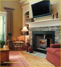 standard mantel height fresh tv over wood burning fireplace 25 best
