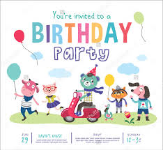 kids birthday party invitations 39 kids birthday invitation templates psd ai word eps