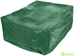 breathable garden furniture covers. Dokon Large Patio Set Cover, Waterproof Breathable Oxford Fabric Outdoor  Garden Furniture Rectangular (270 X 180 89cm) - Green Breathable Garden Furniture Covers