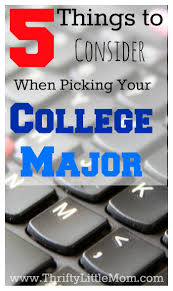 17 best ideas about college majors writers words 5 things to consider when picking your college major