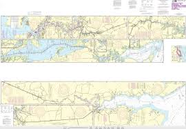 Neuse River Tide Chart Noaa Chart 12206 Intracoastal Waterway Norfolk Albemarle Sound Via North