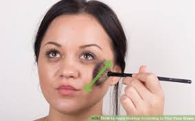 image led apply makeup according to your face shape step 11