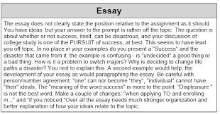 sat essay examples writing sample   page