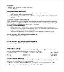 6 Sample Functional Resumes Sample Templates