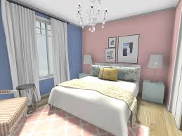 spring decorating ideas bedroom design with pink and blue walls and home decor