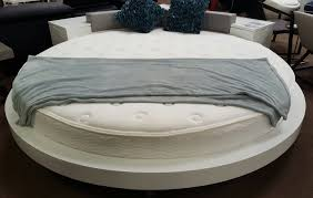 modern round bed furniture los angeles CA hlawzz