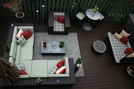 outdoor rugs for patios with transitional deck and succulents decorative pillows potted plants privacy screen outdoor firepit