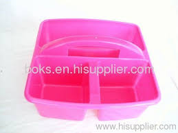 plastic shower caddy with handle.  Plastic Plastic Shower Caddy 3 Cell Laundry Baskets In Plastic Shower Caddy With Handle E