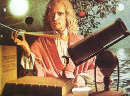 Ученый Исаак Ньютон