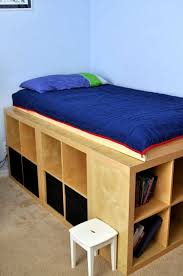 ikea storage bed. Contemporary Ikea 6 DIY Ways To Make Your Own Platform Bed With IKEA Products Ikea Frame  Inspirations 14 And Storage