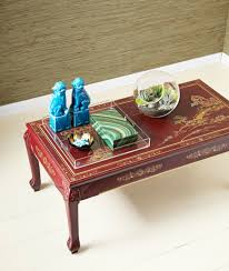 Living Room Table Decorating Coffee Table Decor And Accessories Tabletop Decor For Every Style