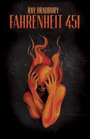 fahrenheit 451 book cover by raechel hurd via behance