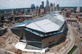U S Bank Stadium Minnesota Multi Purpose Stadium Aerial