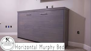 murphy bed. The Best Horizontal Murphy Bed With Ship Lap Diy Woodbrew Workshop For Queen Size Plans Trend E