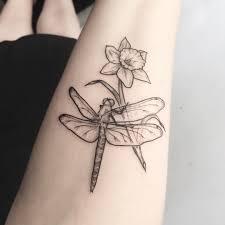 Pin By Meg M On Tattoos Daffodil Tattoo Dragonfly Tattoo Tattoos