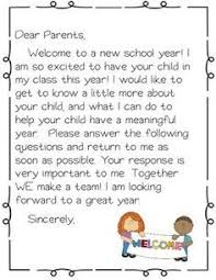Welcome Packet Open House Forms Classroom Must Haves