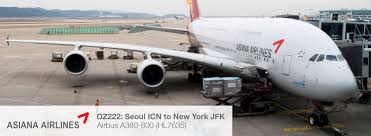 Airbus A380 Seating Chart Asiana Asiana Airlines A380 Economy Class Review Seoul To New York