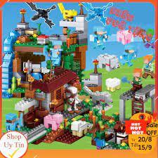 Lego Minecraft]💖 Lê Gô Đồ Chơi Xếp Hình Cho Bé💖[SIÊU QUÀ TẶNG]