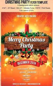 Printable Christmas Flyers Christmas Flyer Template Free Word Free 245430600579 Free