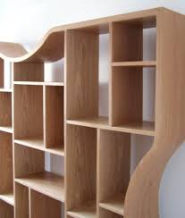 Contemporary Furniture: Curved Shelves, Coffee Tables, Tv Units Oak Wall  Shelving Units Awesome