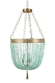 chandeliers design magnificent turquoise blue chandelier light intended for cur turquoise blue beaded chandeliers