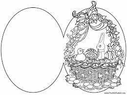 Paasei Kleurplaat Leeg Malvorlage Osterei Ausmalbild 6898