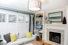 living room with office. Living Room Office Combination Built In Bookshelvesdesktv With