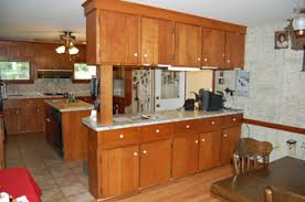 before after refacing photos classic kitchen cabinet refacing