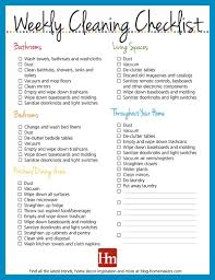 Weekly House Cleaning Chart Free Printables Daily Weekly Monthly Cleaning Schedule