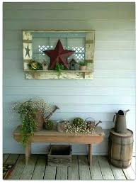 farmhouse outdoor decor pin by on primitive porch front porches and primitives pottery barn decorations