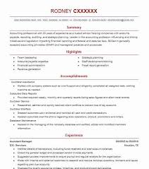 Top Accounts Payable/Receivable Resume