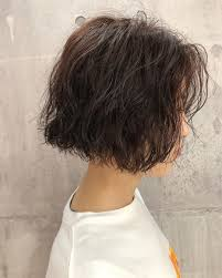 丸顔面長に似合う黒髪ショート20選大人可愛い前髪なしの髪型も Cuty