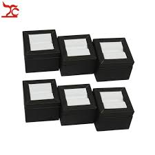 Gem Display Stands Quality 100Pcs Diamond Jewelry Display Holder Leatherette Gemstone 41