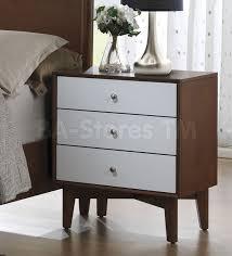 Mid Century Modern Bedroom Sets Oakwood Mid Century Modern 4 Pc Bedroom Set Bedroom Sets Coa