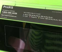 Lexmark Ink Compatibility Chart Lexmark Pro915 Inkjet Printer Screen Control Panel 4449 901