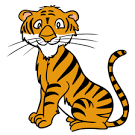 Image result for tiger animated images