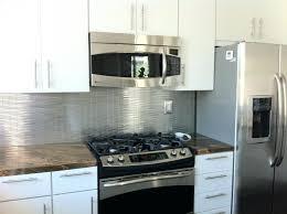stainless steel backsplash tiles self adhesive stainless ...