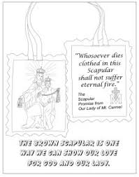 Mount Carmel My Chart Our Lady Of Mt Carmel Coloring Sheets