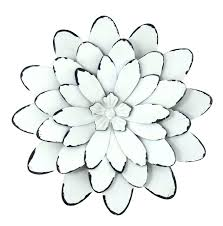 floral metal wall art white metal wall art house additions flower metal wall i reviews white floral metal wall art  on black metal flower wall art uk with floral metal wall art floral metal wall art 1 metal lotus flower