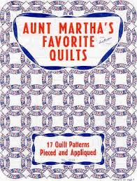 Colonial Patterns Unique Aunt Martha's Favorite Quilts Colonial Patterns Inc