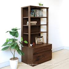 wonder wonder shelf 60 tall walnut