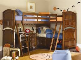 Horrible Stairsdesign For Blue Bean Bag Chair Feats Wood Kids Bunk Bed  Together With Bunk Beds