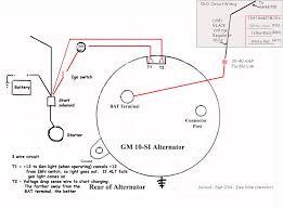 chevy one wire alternator diagram Gm Alternator Wiring alternator wire thickness gm alternator wiring diagram